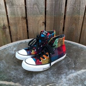 Converse Woolrich High Top Women's Shoes